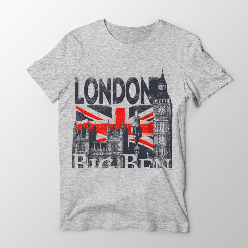 cf59299435 Arte para Camiseta - Londres - Sublimação - Openlier - Chave da ...